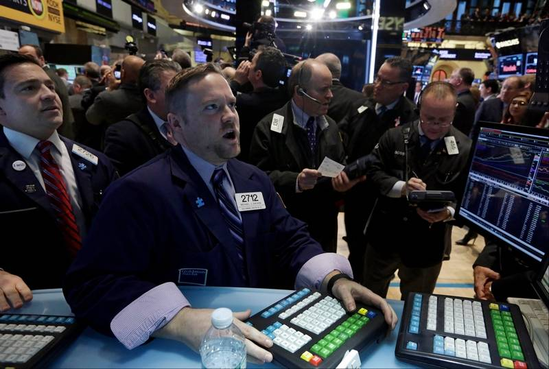 Stocks open lower on Wall Street ahead of Fed news