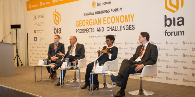 BIA Hosted An International Business Forum in Tbilisi